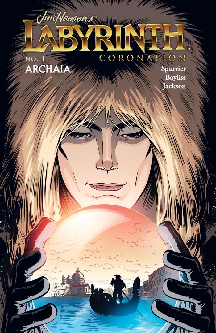 Labyrinth_Coronation_001_B_Subscription ComicList Previews: JIM HENSON'S LABYRINTH CORONATION #1
