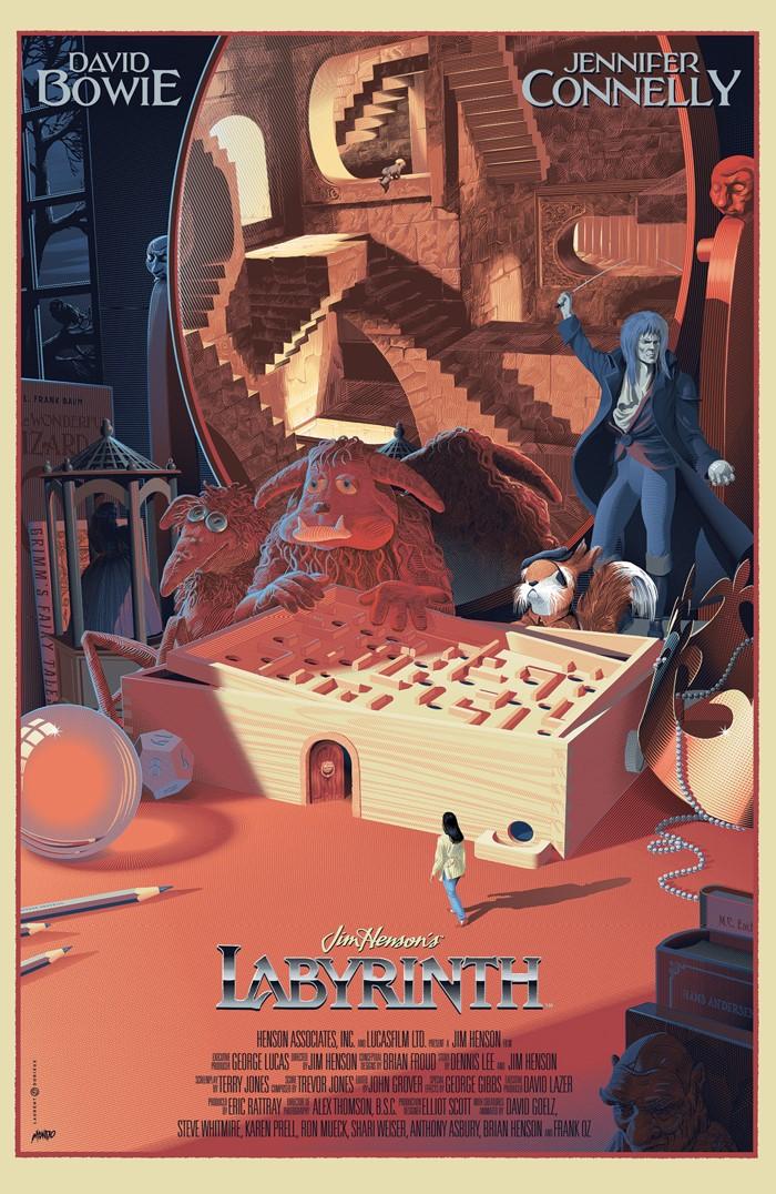 Labyrinth_Coronation_001_C_Variant_Mondo ComicList Previews: JIM HENSON'S LABYRINTH CORONATION #1