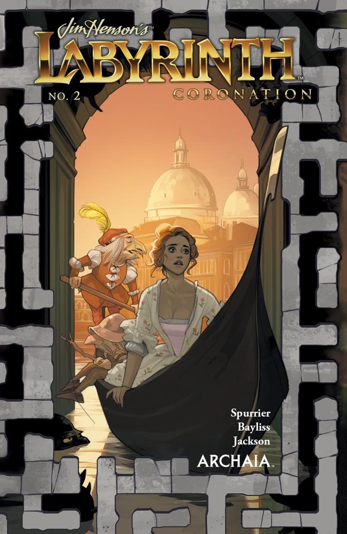 Labyrinth_Coronation_002_A_Main ComicList Previews: JIM HENSON'S LABYRINTH CORONATION #2