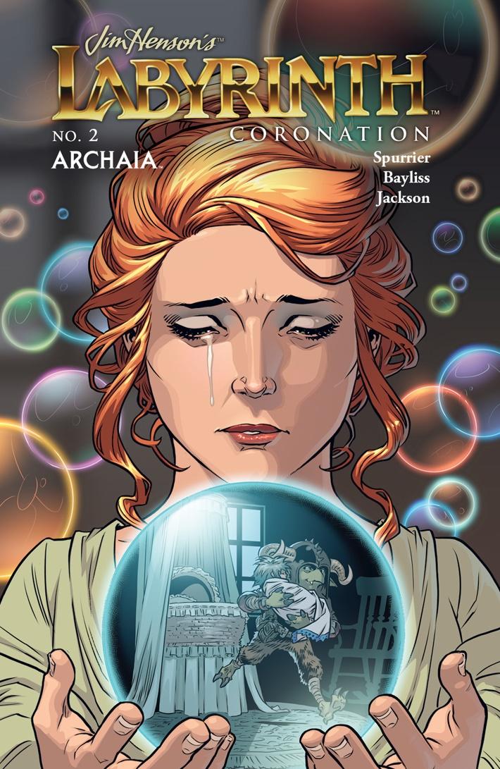 Labyrinth_Coronation_002_B_Subscription ComicList Previews: JIM HENSON'S LABYRINTH CORONATION #2