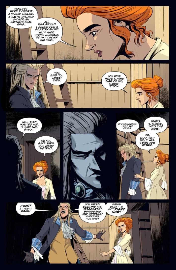 Labyrinth_Coronation_002_PRESS_7 ComicList Previews: JIM HENSON'S LABYRINTH CORONATION #2