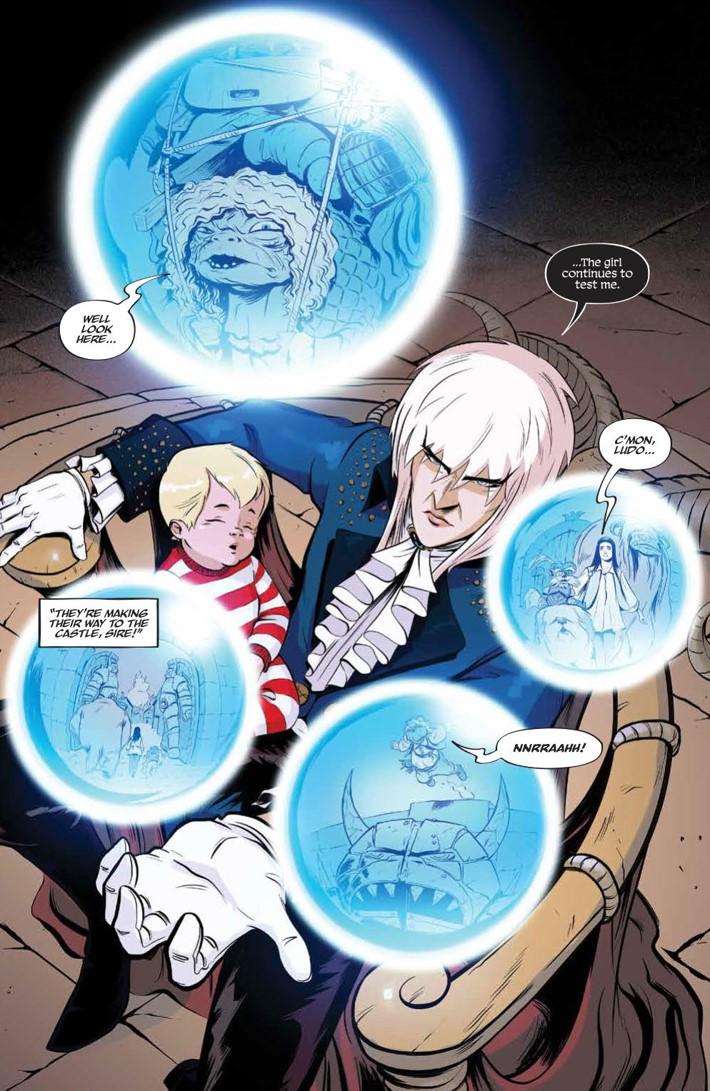 Labyrinth_Coronation_010_PRESS_3 ComicList Previews: JIM HENSON'S LABYRINTH CORONATION #10