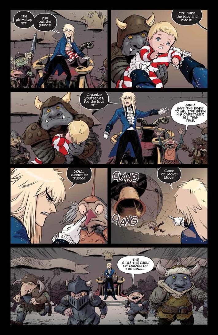 Labyrinth_Coronation_010_PRESS_4 ComicList Previews: JIM HENSON'S LABYRINTH CORONATION #10