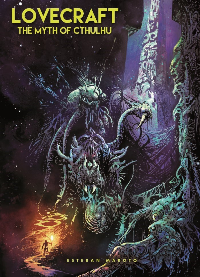 Lovecraft_MythOfCthulhu-pr-1 ComicList Previews: LOVECRAFT THE MYTH OF CTHULHU HC
