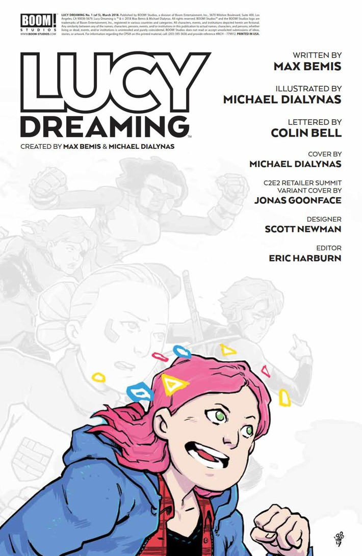 LucyDreaming_001_PRESS_2 ComicList Previews: LUCY DREAMING #1