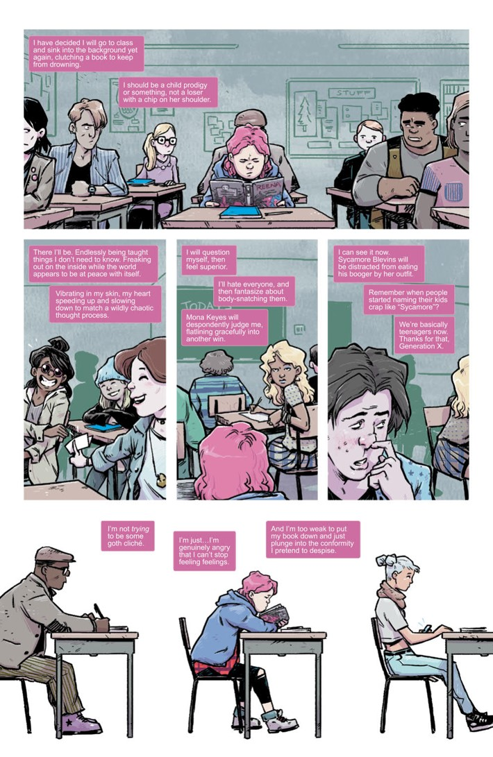 LucyDreaming_001_PRESS_5 ComicList Previews: LUCY DREAMING #1