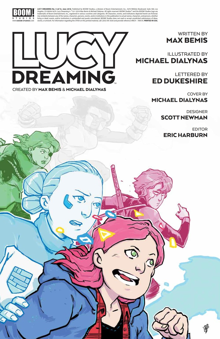 LucyDreaming_004_PRESS_2 ComicList Previews: LUCY DREAMING #4
