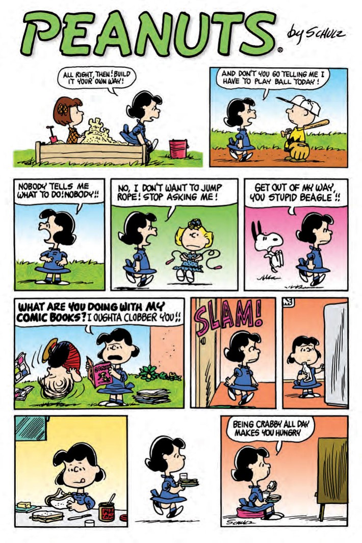 Lucy_HC_PRESS_4 ComicList Previews: LUCY A PEANUTS COLLECTION HC