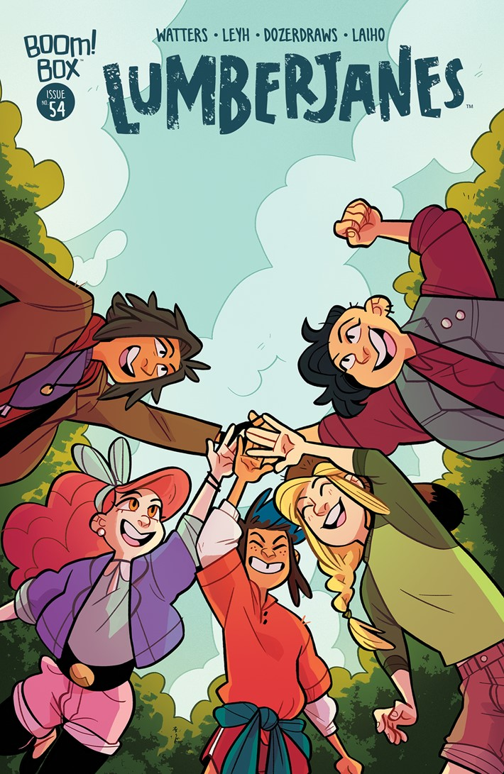 Lumberjanes_054_B__Subscription ComicList Previews: LUMBERJANES #54