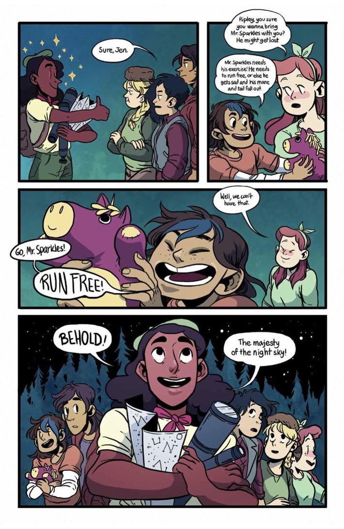 Lumberjanes_BonusTracks_SC_PRESS_10 ComicList Previews: LUMBERJANES BONUS TRACKS TP