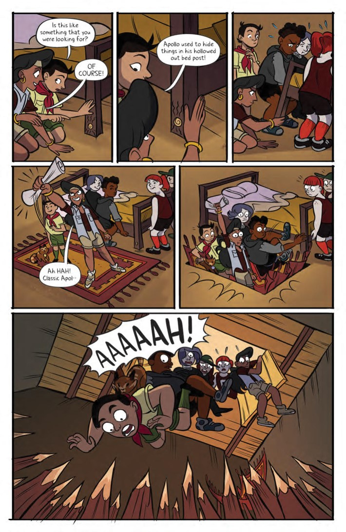Lumberjanes_Max_HC_v5_PRESS_18 ComicList Previews: LUMBERJANES TO THE MAX EDITION VOLUME 5 HC