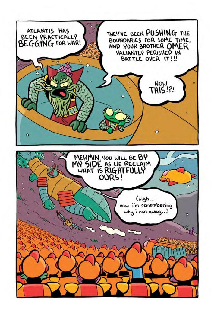 MERMIN-V5-MARKETING_Preview-9 ComicList Preview: MERMIN VOLUME 5 MAKING WAVES HC