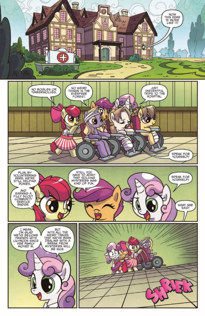 MLP_PonyvilleMysteries_01-pr-3 ComicList Previews: MY LITTLE PONY PONYVILLE MYSTERIES #1