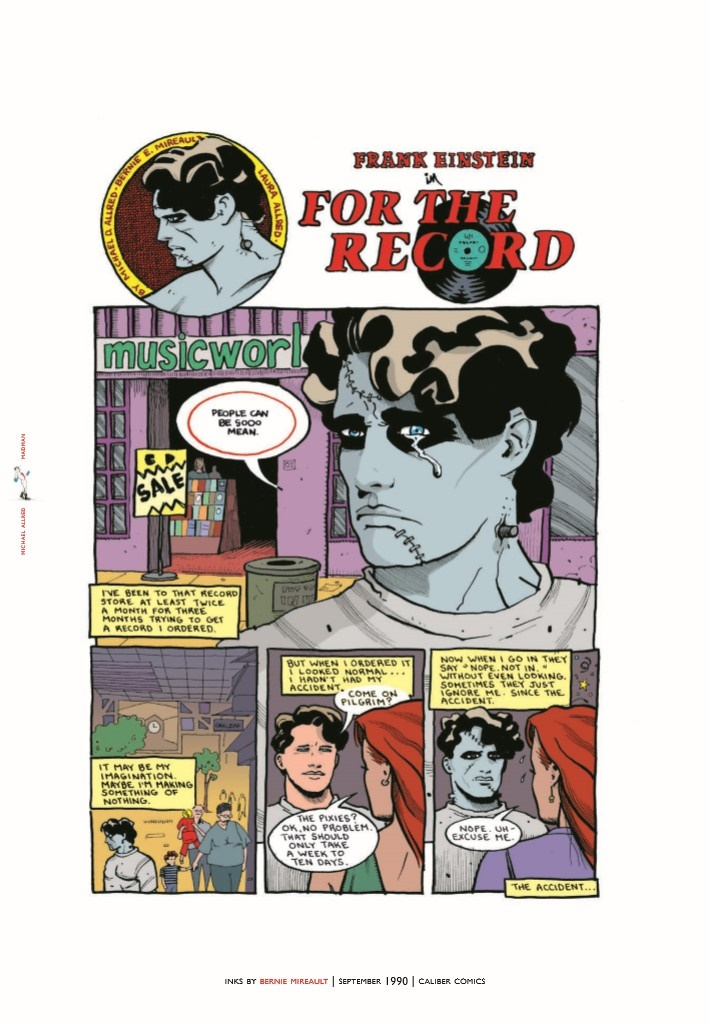 Madman_IDWL-pr-3 ComicList Previews: MIKE ALLRED'S MADMAN ARTIST SELECT HC