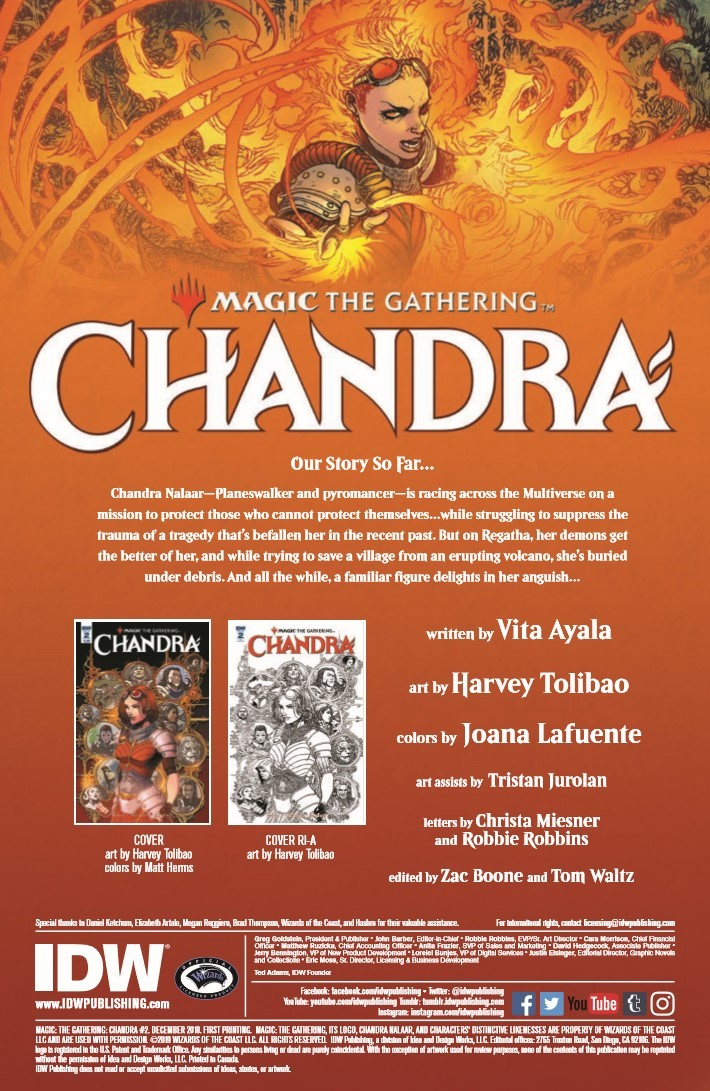 Magic_The_Gathering_Chandra_02-pr-2 ComicList Previews: MAGIC THE GATHERING CHANDRA #2
