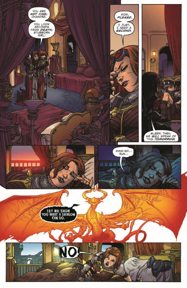 Magic_The_Gathering_Chandra_02-pr-4 ComicList Previews: MAGIC THE GATHERING CHANDRA #2