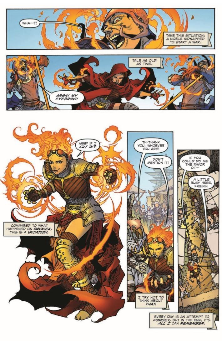 Magic_The_Gathering_Chandra_02-pr-7 ComicList Previews: MAGIC THE GATHERING CHANDRA #2