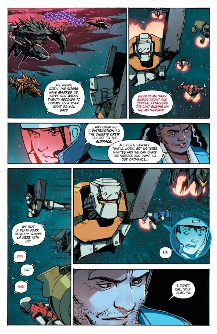 MechCadetYu_v3_SC_PRESS_12 ComicList Previews: MECH CADET YU VOLUME 3 TP