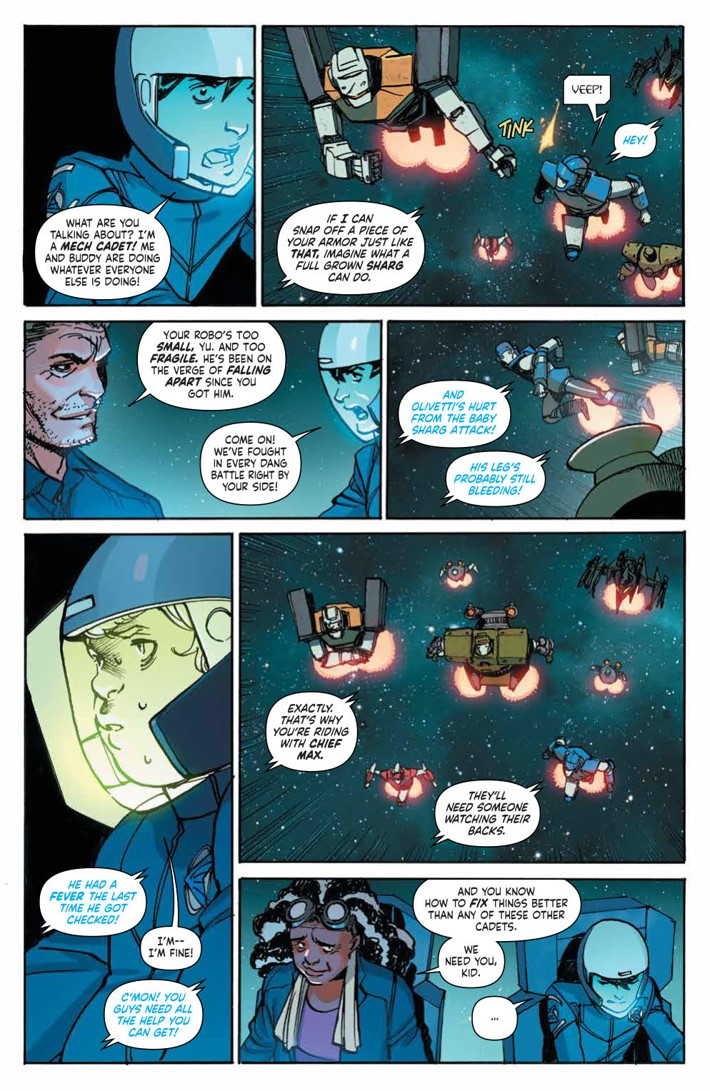 MechCadetYu_v3_SC_PRESS_13 ComicList Previews: MECH CADET YU VOLUME 3 TP