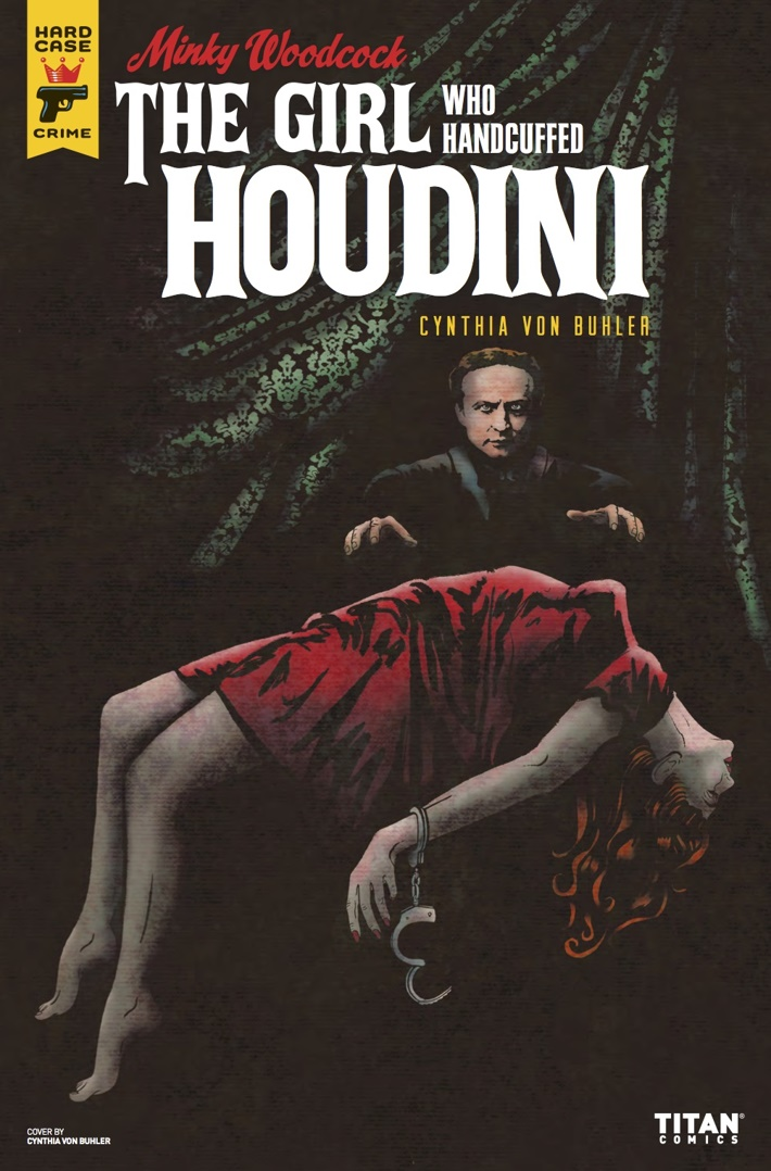 Minky_Woodcock_4_CvrB ComicList Previews: MINKY WOODCOCK THE GIRL WHO HANDCUFFED HOUDINI #4