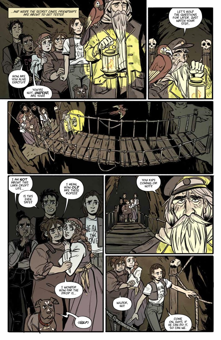 MisfitCity_SC_v2_PRESS_10 ComicList Previews: MISFIT CITY VOLUME 2 TP