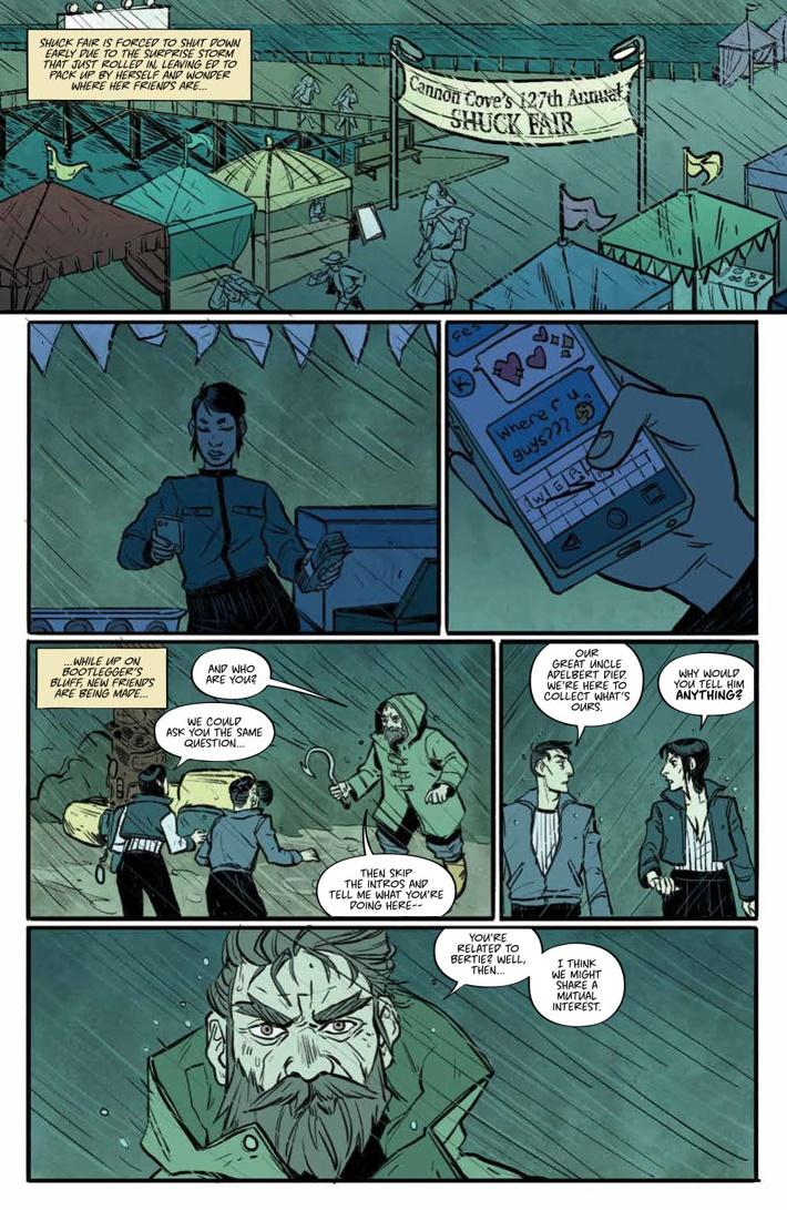 MisfitCity_SC_v2_PRESS_9 ComicList Previews: MISFIT CITY VOLUME 2 TP