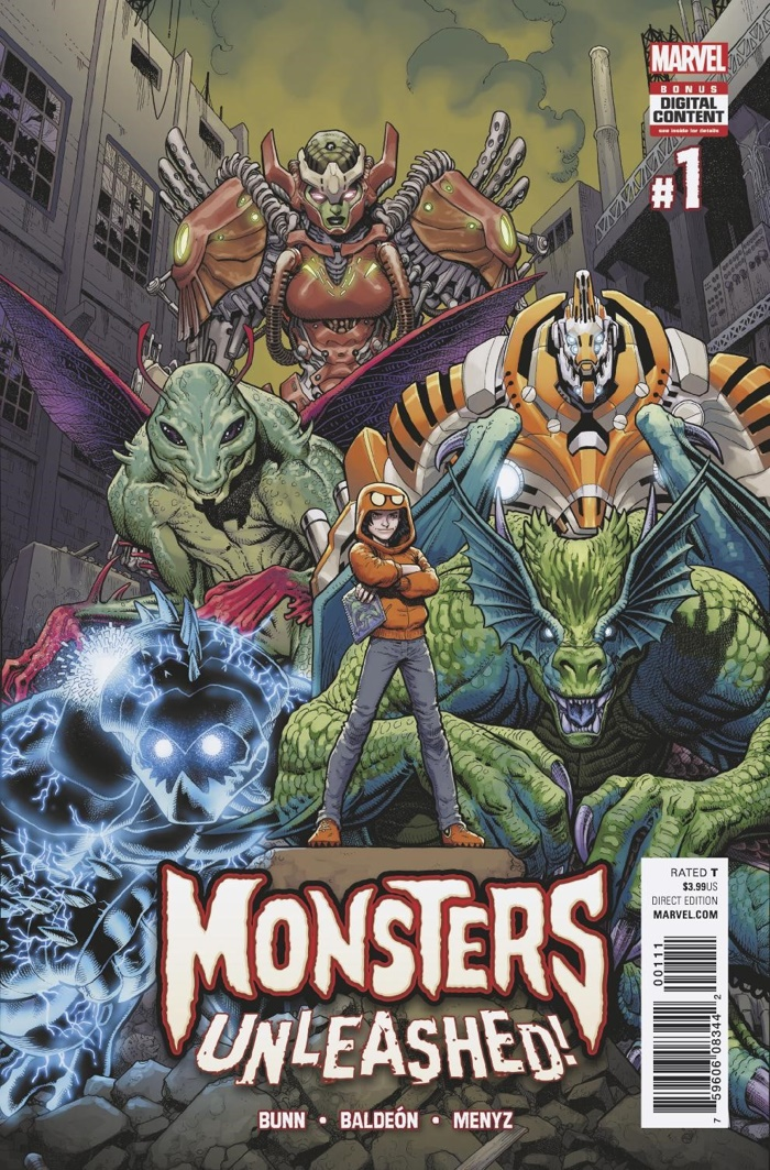 Monsters_Unleashed_1_Cover ComicList Preview: MONSTERS UNLEASHED #1