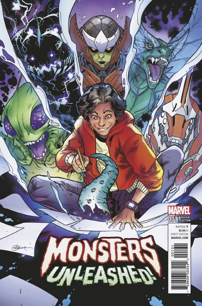 Monsters_Unleashed_1_Silva_Variant ComicList Preview: MONSTERS UNLEASHED #1