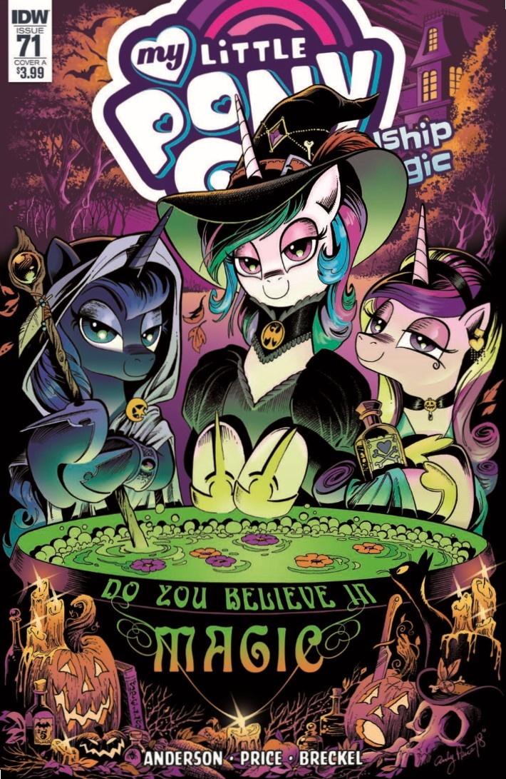 MyLittlePony_71-pr-1 ComicList Previews: MY LITTLE PONY FRIENDSHIP IS MAGIC #71