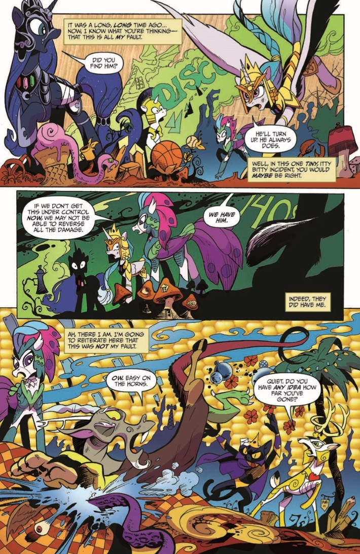 MyLittlePony_75-pr-3 ComicList Previews: MY LITTLE PONY FRIENDSHIP IS MAGIC #75