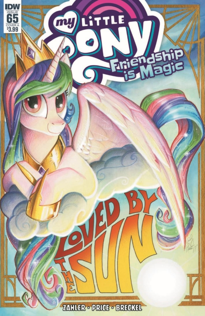 MyLittlePony_FiM_65-pr-1 ComicList Previews: MY LITTLE PONY FRIENDSHIP IS MAGIC #65
