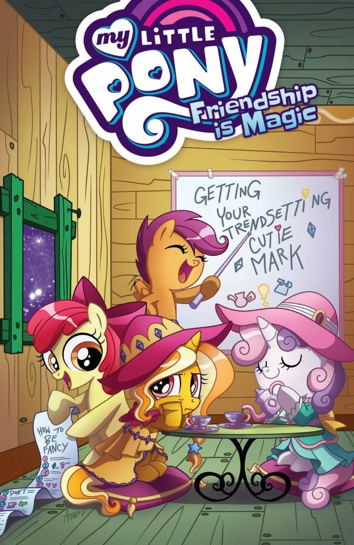 MyLittlePony_FiM_vol14-pr-1 ComicList Previews: MY LITTLE PONY FRIENDSHIP IS MAGIC VOLUME 14 TP