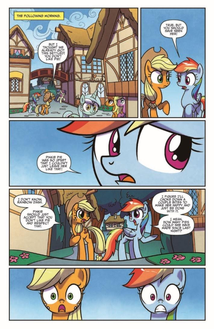 MyLittlePony_FiM_vol14-pr-8 ComicList Previews: MY LITTLE PONY FRIENDSHIP IS MAGIC VOLUME 14 TP