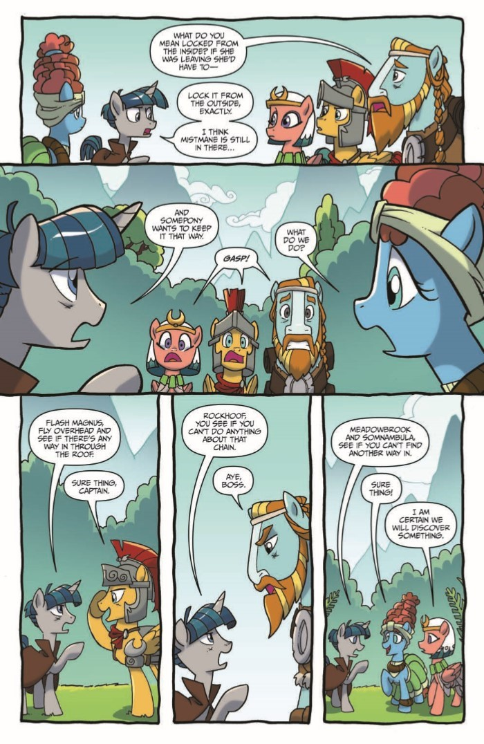 MyLittlePony_LoM_11-pr-4 ComicList Previews: MY LITTLE PONY LEGENDS OF MAGIC #11
