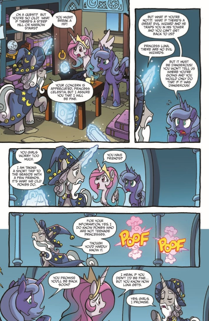 MyLittlePony_LoM_12-pr-5 ComicList Previews: MY LITTLE PONY LEGENDS OF MAGIC #12