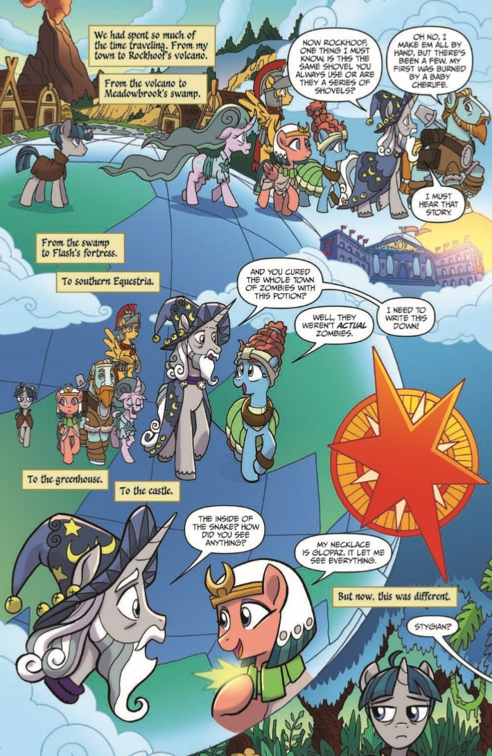 MyLittlePony_LoM_12-pr-7 ComicList Previews: MY LITTLE PONY LEGENDS OF MAGIC #12