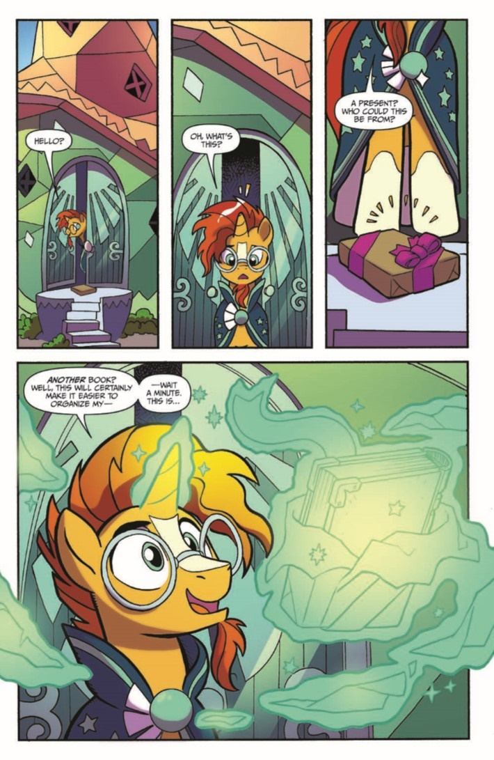 MyLittlePony_LoM_vol02-pr-5 ComicList Previews: MY LITTLE PONY LEGENDS OF MAGIC VOLUME 2 TP