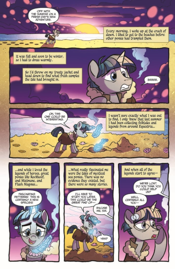 MyLittlePony_LoM_vol02-pr-8 ComicList Previews: MY LITTLE PONY LEGENDS OF MAGIC VOLUME 2 TP