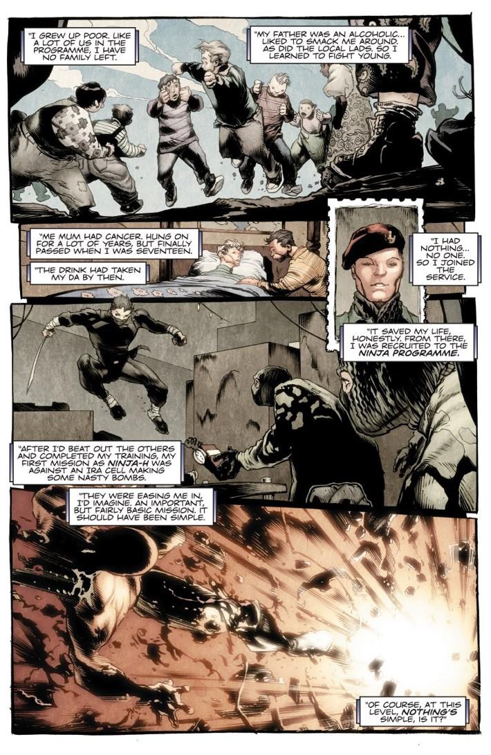 NINJA-K_TPB3_PREVIEW_005 ComicList Previews: NINJA-K VOLUME 3 FALLOUT TP