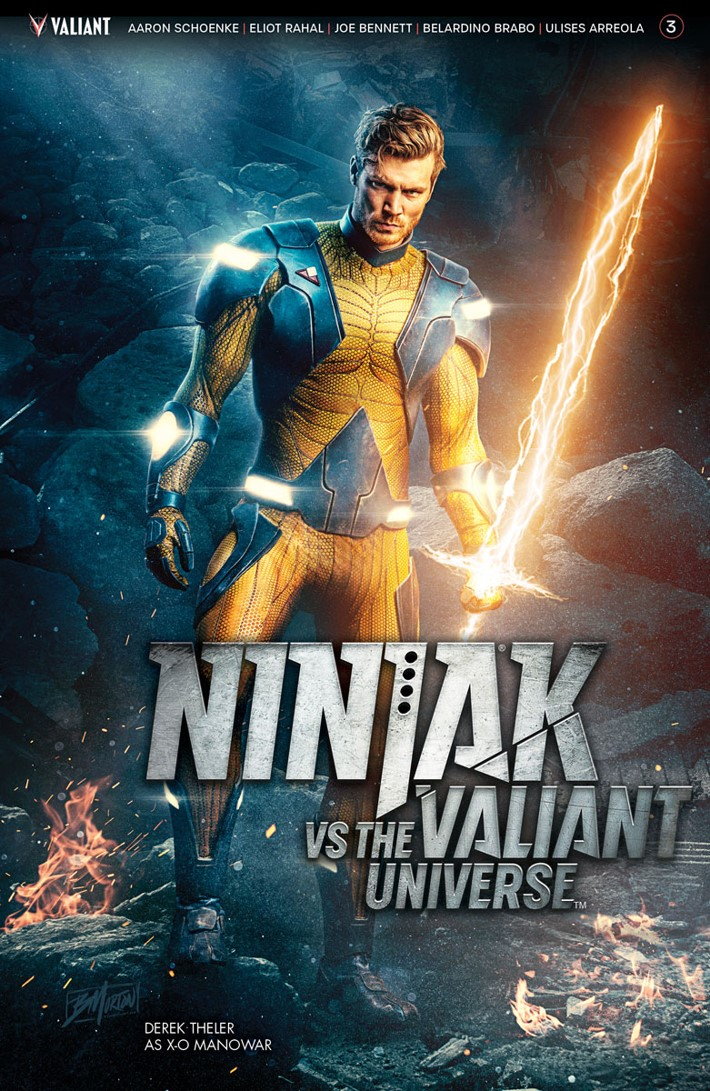 NJKVS_003_COVER-PHOTO ComicList Previews: NINJAK VS THE VALIANT UNIVERSE #3