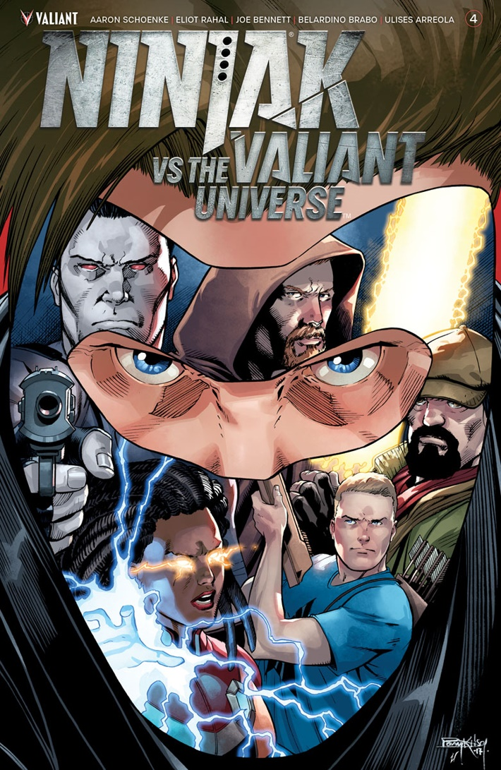 NJKVS_004_VARIANT-ICON_KITSON ComicList Previews: NINJAK VS THE VALIANT UNIVERSE #4