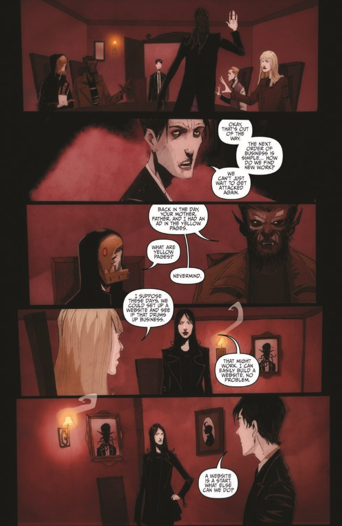 OctoberFaction_SuperDreams_01-pr-5 ComicList Previews: THE OCTOBER FACTION SUPERNATURAL DREAMS #1