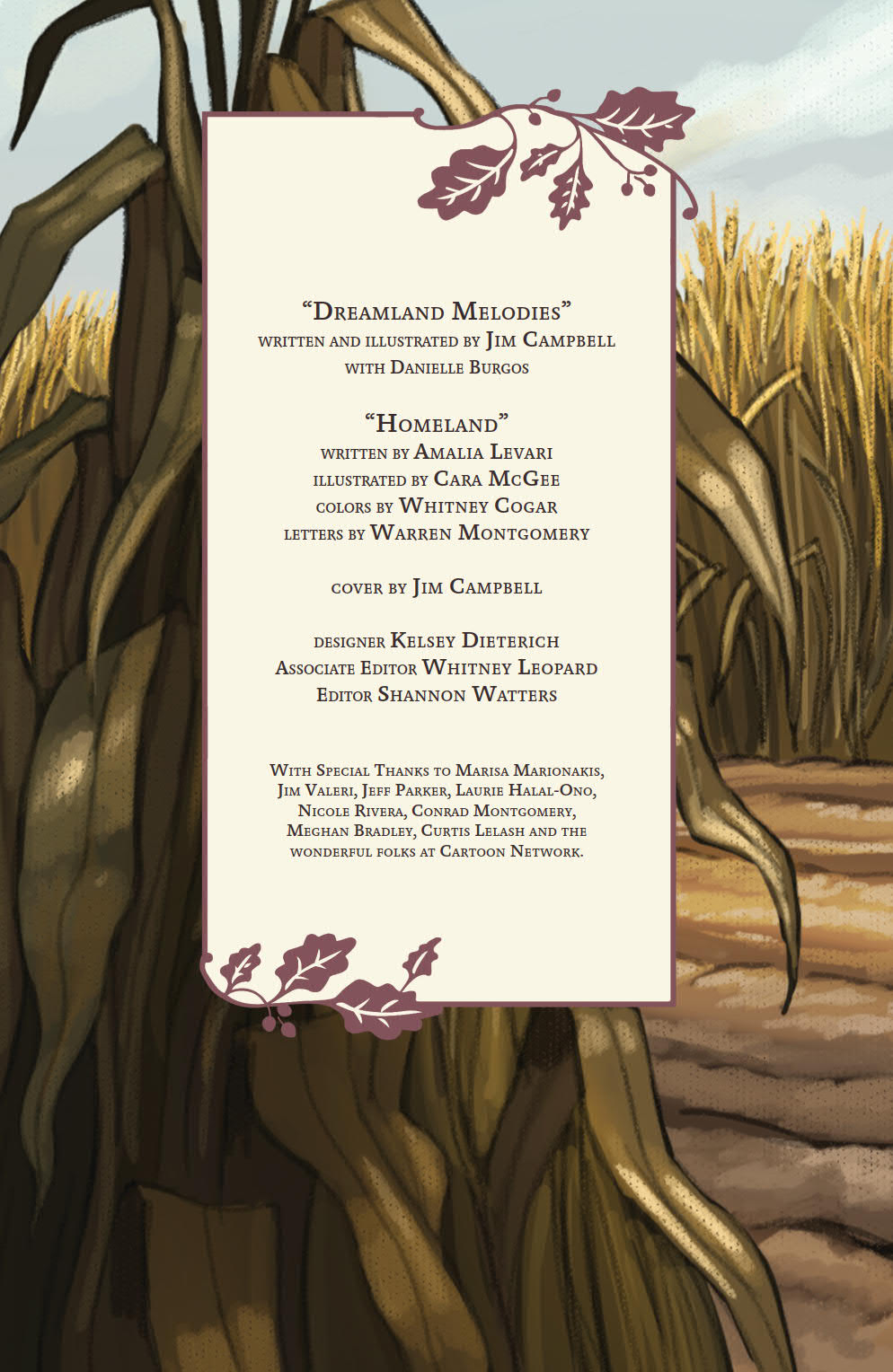 OverGardenWall_Ongoing_v1_PRESS_7 ComicList Preview: OVER THE GARDEN WALL VOLUME 1 TP