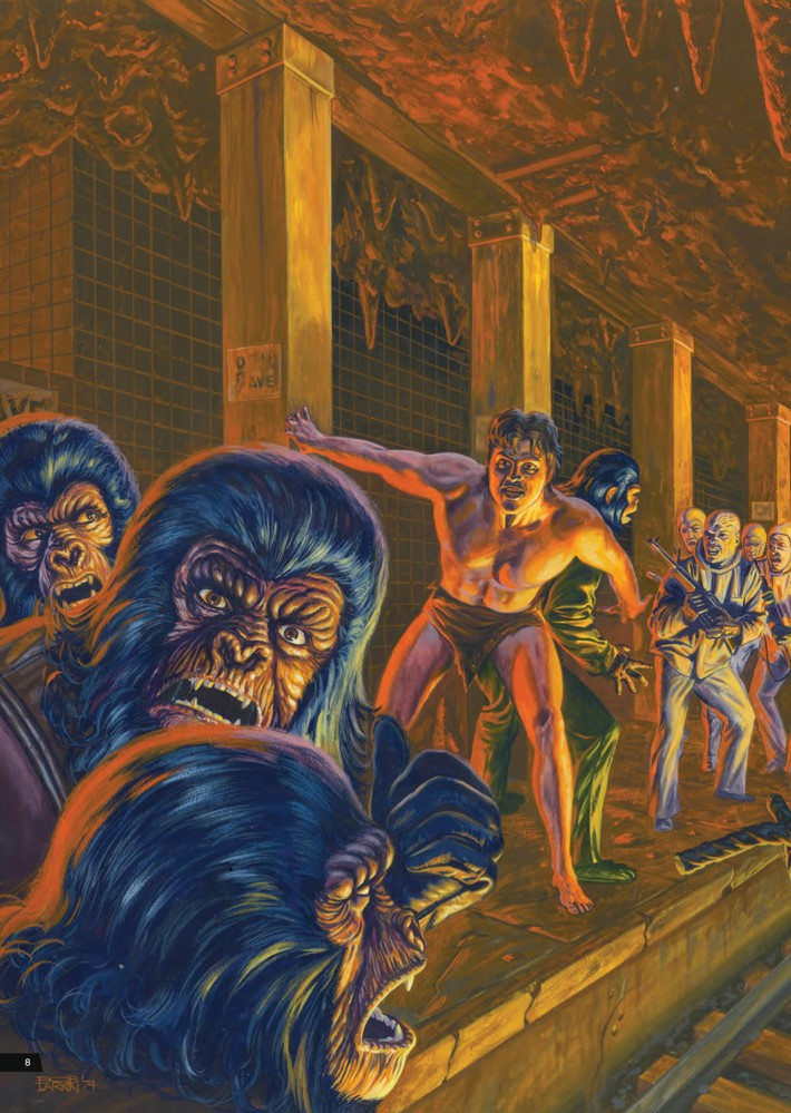 POTA_ArtistTribute_HC_PRESS_10 ComicList Previews: PLANET OF THE APES ARTIST TRIBUTE HC