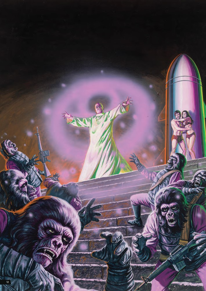 POTA_ArtistTribute_HC_PRESS_14 ComicList Previews: PLANET OF THE APES ARTIST TRIBUTE HC