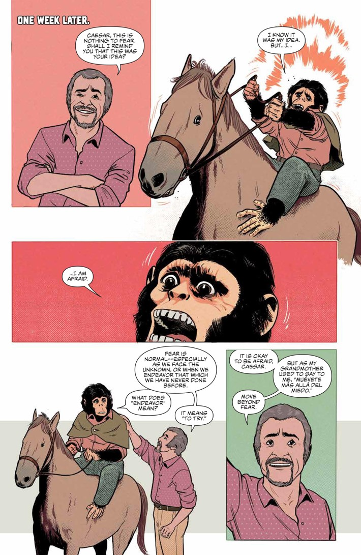POTA_TimeofMan_001_PRESS_7 ComicList Previews: PLANET OF THE APES THE TIME OF MAN #1