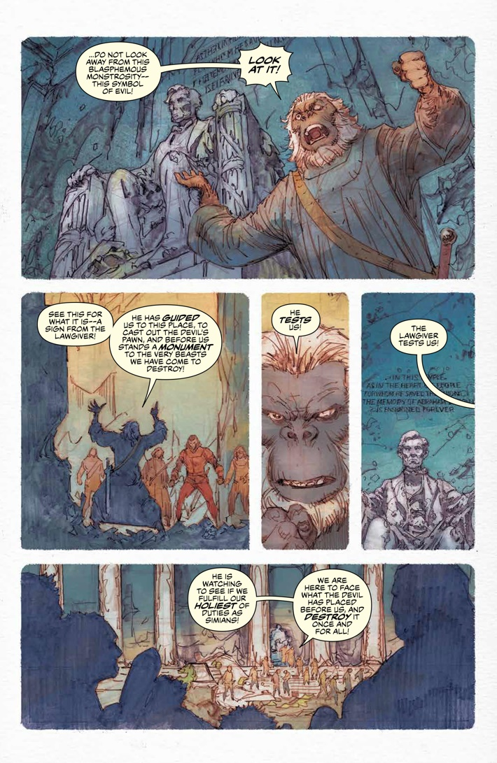 POTA_Ursus_005_PRESS_6 ComicList Previews: PLANET OF THE APES URSUS #5