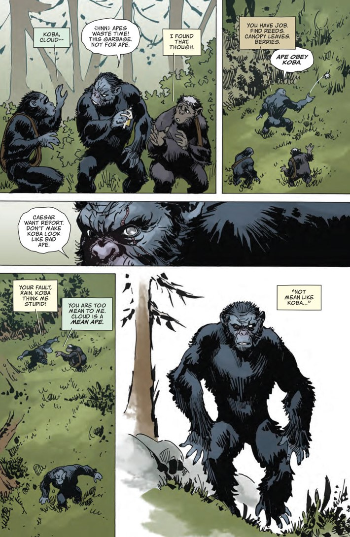 POTA_WhenWorldsCollide_PRESS_30 ComicList Previews: PLANET OF THE APES WHEN WORLDS COLLIDE SC
