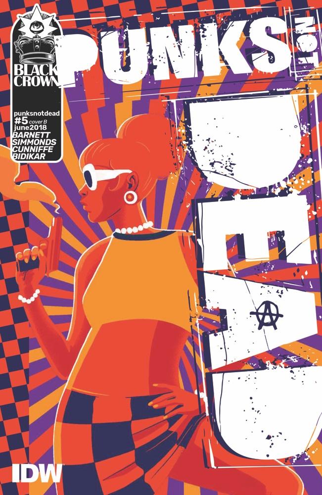 PUNKSNOTDEAD05-coverB ComicList Previews: PUNKS NOT DEAD #5