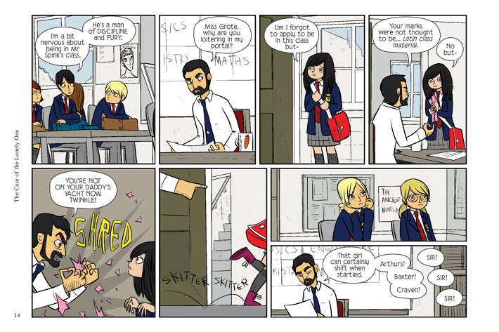 Pages-from-BMACHV4-PE-MARKETING-2-7 ComicList Previews: BAD MACHINERY POCKET EDITION VOLUME 4 THE CASE OF THE LONELY ONE GN